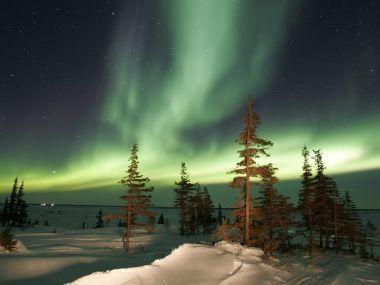加拿大風光-北極光