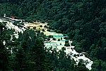 圖片:黃龍溝景區風景