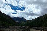 圖片:黃龍溝沿途風景