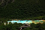 圖片:九寨溝黃龍之旅-黃龍風光