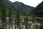 圖片:九寨溝黃龍之旅 諾日朗瀑布風景