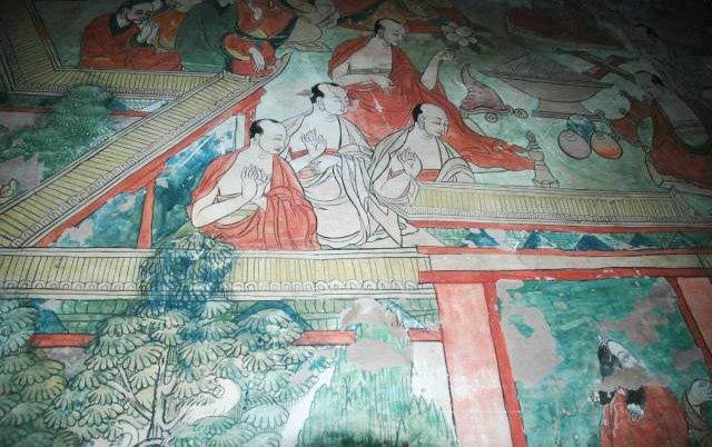 圖片:西藏山南-桑耶寺壁畫