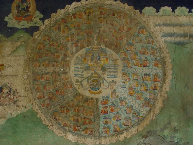 桑耶寺壁畫