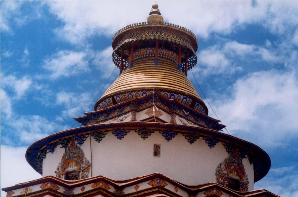圖片:白居寺-十萬佛塔