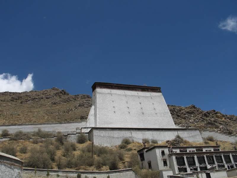 日喀則扎什倫布寺-展佛台