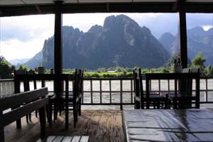 湄公河的支流湄南河,風景如畫