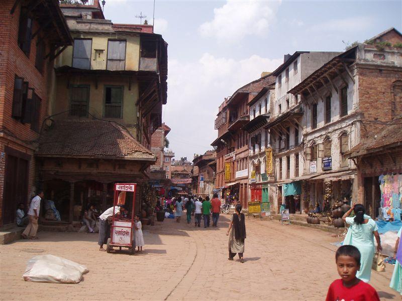 喜馬拉雅風情-加德滿都老城區