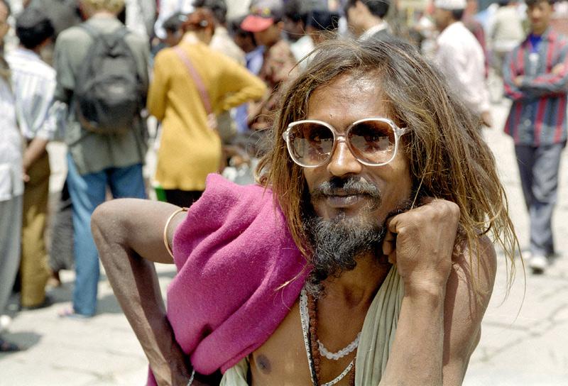圖片:喜馬拉雅風情-加德滿都 喜歡擺POSE苦行僧