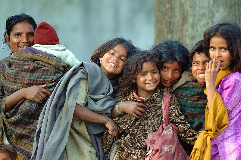 圖片:喜馬拉雅風情-加德滿都 開心的一家人