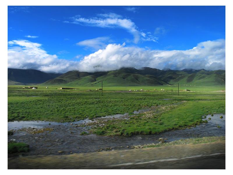 圖片:青海格爾木-青藏公路沿途風光