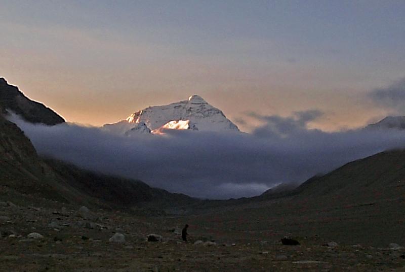 西藏圖片: 珠穆朗瑪峰 Mt-Everest