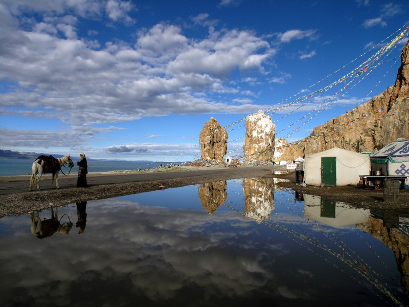 西藏圖片:聖湖-納木錯 Nam-Tso