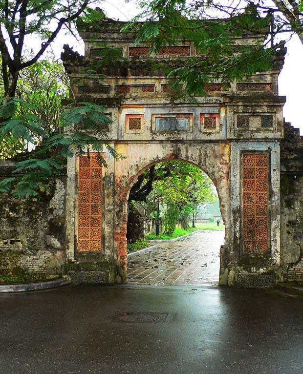 越南風光:古都順化-Vietnam Hue (順化古街門)
