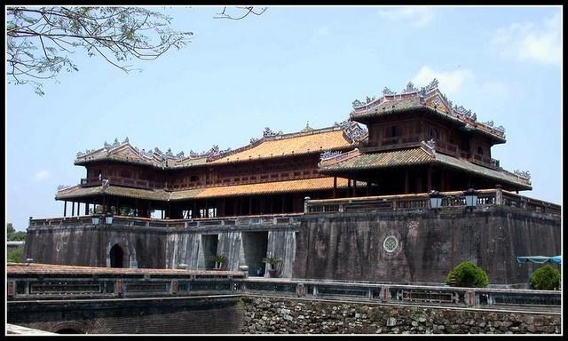 越南風光:古都順化-Vietnam Hue (順化古城門)