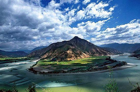 雲南香格里拉-長江第一灣