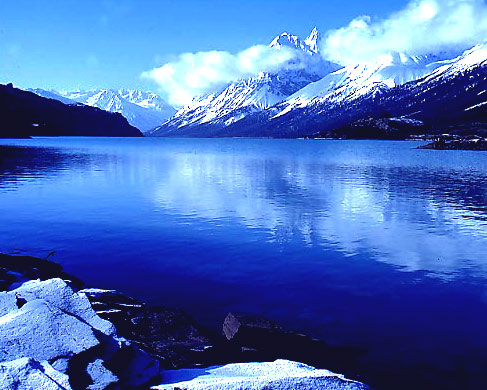 川藏線風景-然烏湖