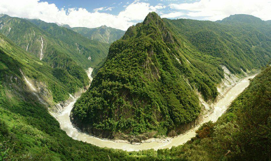 圖片:西藏雅魯藏布江大峽谷