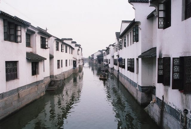 浙江古鎮:西塘旅遊風光