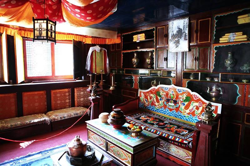 四川阿壩州風景:馬爾康-卓克基土司官寨