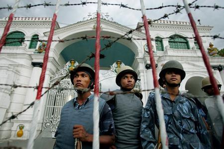 2006getty年度最佳:尼泊爾首都發生騷亂