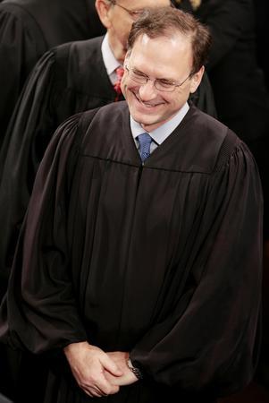 圖文:阿利托就任美聯邦大法官