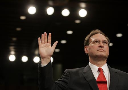 圖文:阿利托宣誓就職聯邦大法官