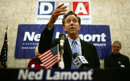 圖文:內德贏得民主黨參議員選舉勝利