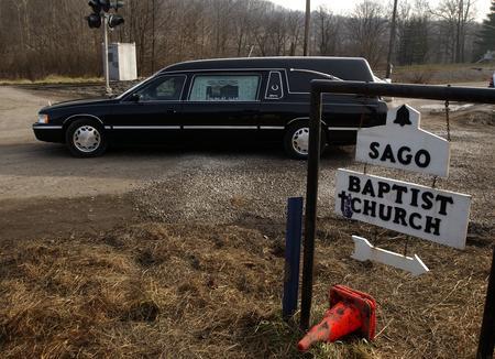 圖文:美國西弗吉尼亞州薩戈煤礦發生事故
