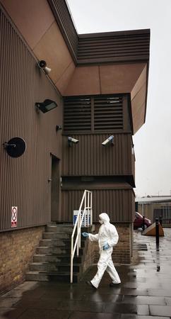 圖文:英國肯特郡湯布裡奇鎮公司金庫遭搶