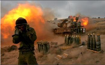 圖文:以色列軍隊炮轟黎以邊境