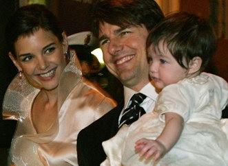 圖文:好萊塢明星湯姆-克魯斯一家人
