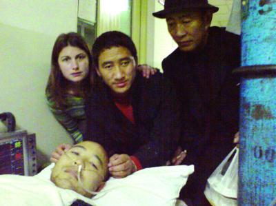 法國女孩為甘肅喇嘛籌錢換腎(圖)