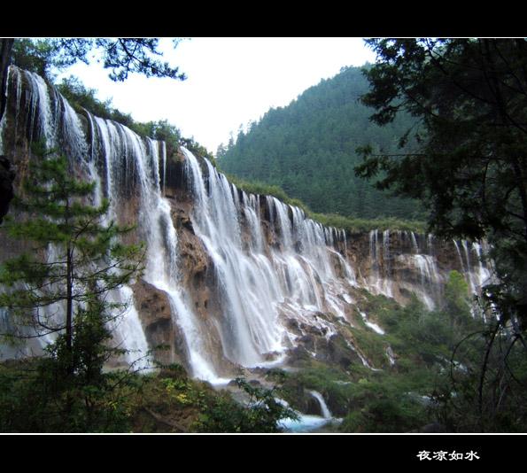 九寨溝風景圖片.Jiuzhaigou Photos
