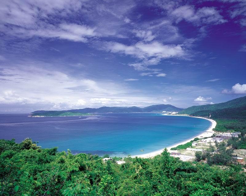 圖片:三亞亞龍灣全景