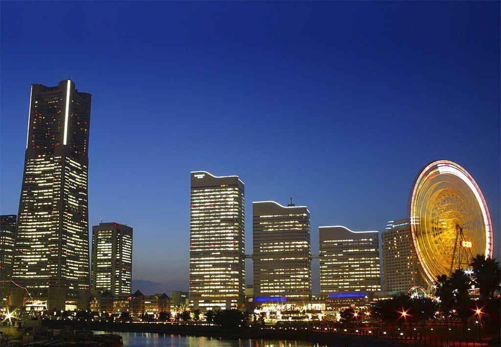 日本橫濱風景圖片