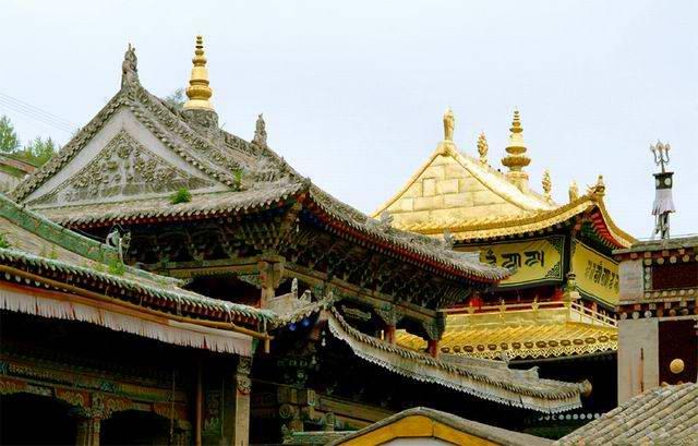 圖片:青海著名景點-塔爾寺