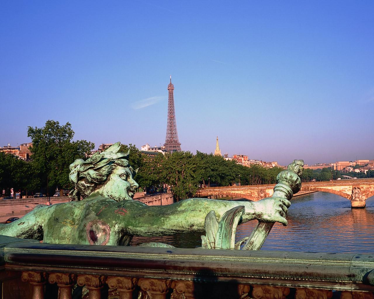 法國巴黎風光圖片