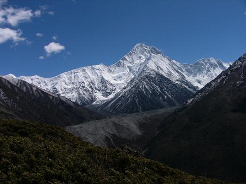 南迦巴瓦峰,如此耀眼(一)