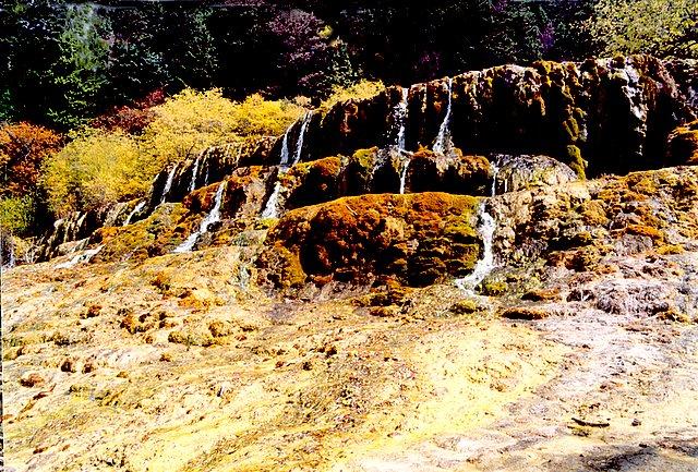 四川黃龍風光區圖片