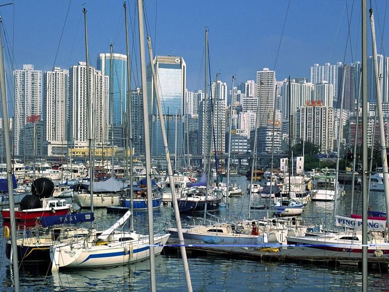 香港風光圖片