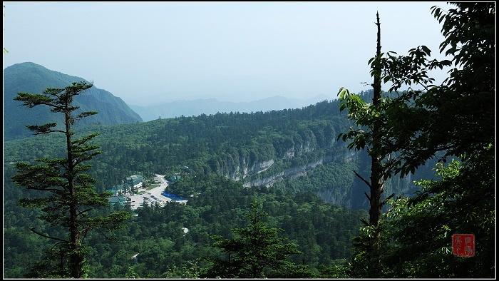 峨眉山旅遊風景圖片