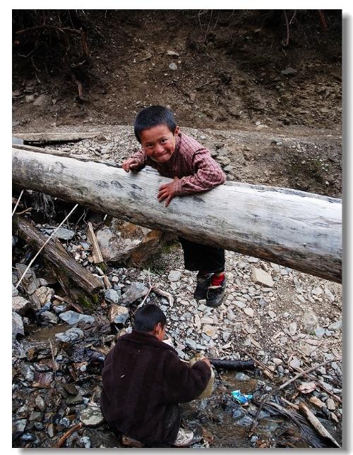 雨崩村的孩子們