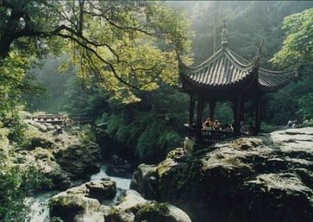 雙橋清音_峨眉山10大景觀