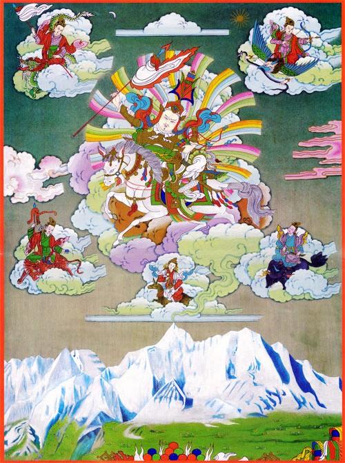 圖片:阿尼瑪卿神山的傳說