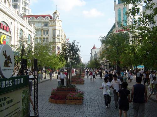 中央大街圖片 - 哈爾濱景點圖片