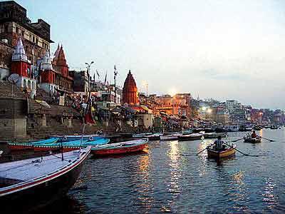 印度恆河圖片