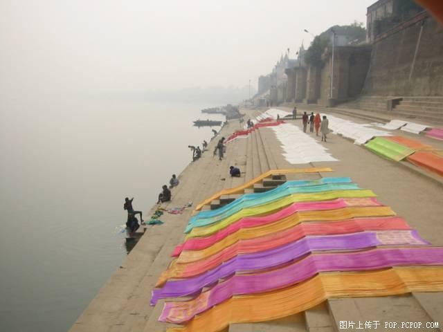 印度恆河風光圖片