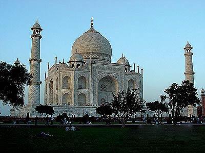 印度泰姬陵風光