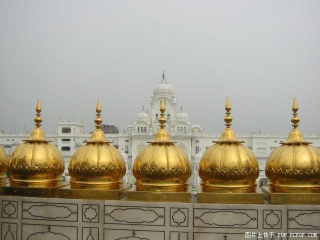 印度黃金廟圖片