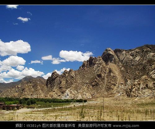西藏拉薩風景圖片
